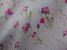 Italian Silk Habotai 100%, 'L'Aquila' (per metre) dress fabric