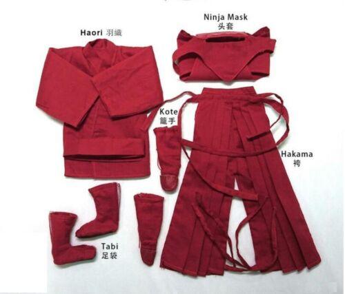 Hot FIGURE TOYS 1//6 Japonais Ninja Costume Rouge Et Noir Tricolor Toys Dao ❶ USA ❶