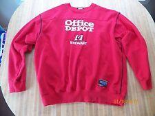 1 NASCAR Tony Stewart #14 Stewart Haas Racing Office Depot XL Red Sweatshirt