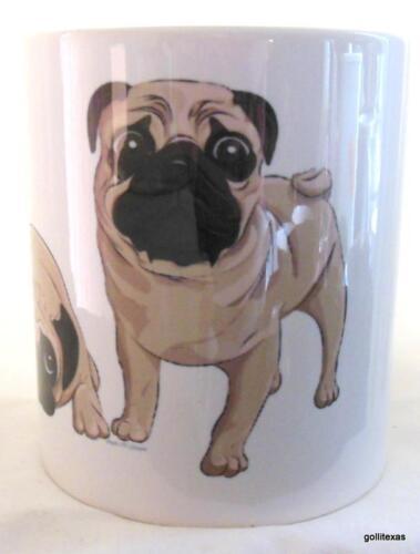 """Pug Mug 3.75/"""" Too Sweet"""