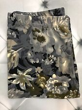 One Size Floral Abstract Print Leggings Buttery Soft OS Multi Color  2-10 Flower