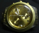 SWATCH DIAPHANE GOLD CHRONOGRAPH - QUARTZ MOVEMENT - SWISS MADE - GOOD CONDITION