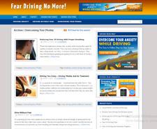 Make Money Online Driving Fear Affiliate Website Blog Free Hosting Setup