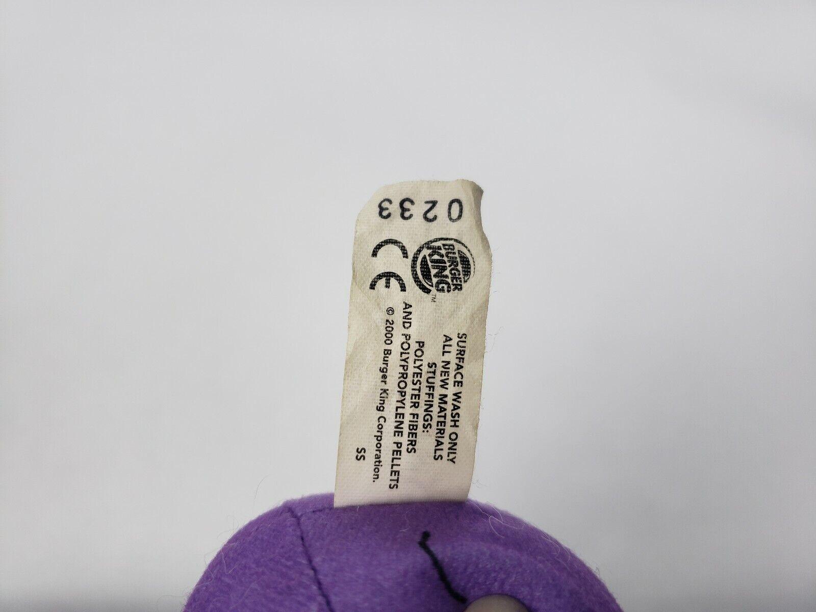 Pokemon Burger King Koffing Plush Stuffed Toy Doll Doll Doll Lets Go 3  9986bb