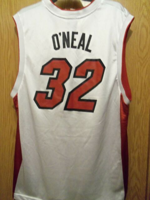 NBA SHAQ MIAMI HEAT 32 Jersey L Reebok  00de80075
