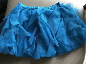 0782bf470ca5 Image is loading crazy-8-by-gymboree-blue-cascade-tulle-skirt-