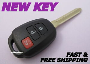 GQ4-52T Re-Cased OEM Toyota Highlander RAV4 Remote Head Key 4B Hatch H chip