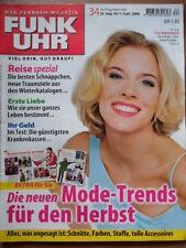 FUNK UHR 34 - 2000 ** TV: 26.8.-1.9. Eva Habermann Andrea Kiewel FC Bayern