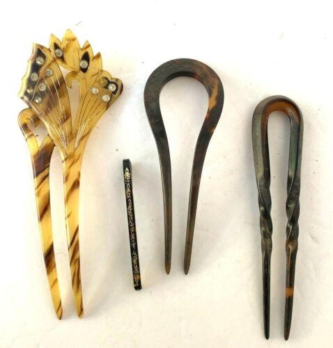 Vintage Celluloid Hairpins (021)