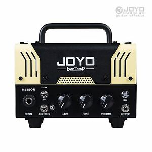 joyo meteor bantamp guitar amplifier head 20w tube 2 channel bluetooth new ebay. Black Bedroom Furniture Sets. Home Design Ideas