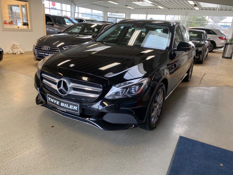 Mercedes C220 d 2,2 Avantgarde stc. aut. 5d - 309.900 kr.