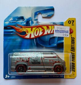 2008-HOTWHEELS-Custom-77-Dodge-Van-MOLTO-RARA-Nuovo-di-zecca