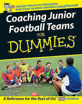1 of 1 - Coaching Junior Football Teams for Dummies (For Dummies)-ExLibrary