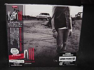 KORN III:Remember Who You Are + 3 (SPECIAL EDITION) JAPAN ...Korn Remember Who You Are Special Edition