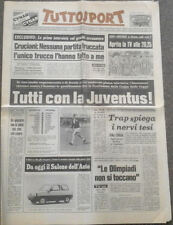 Juventus v Arsenal 23/4/1980 ECWC S-F Ticket + Newspaper + Official Magazines +