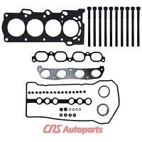 98-99 Toyota Corolla Prizm 1.8l Engine Head Gasket Set & Bolts Kit Code 1zzfe