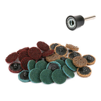 Roloc style assortment 36 50pc Sanding disc 2in 60 and 120 grit R-type