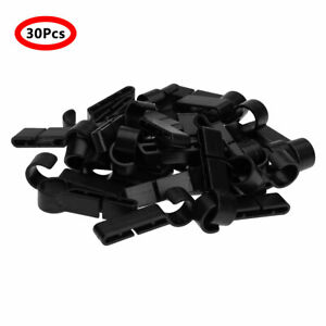 Helmet Clips Headlamp Hard Hat Lightweight 10 Pcs Set Plastic Hook Head Light .