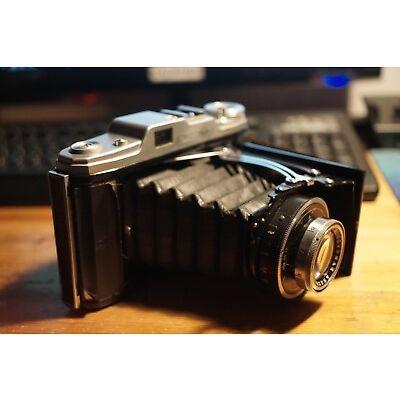 Kamera Zeiss Ikon Ercona II antik 50er Jahre Objektiv Novotar Anastigmat 4.5/110