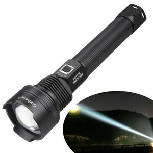 Ultra Bright 90000 Lumens xhp70.2 LED USB Rechargeable Torch Camping Flashlight