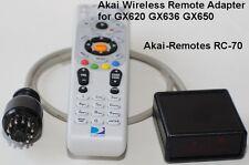 Wireless Remote adapter RC-70 to AKAI GX620 GX636 GX650