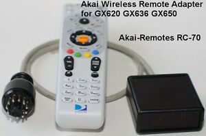 Wireless-Remote-adapter-RC-70-to-AKAI-GX620-GX636-GX650