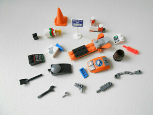 100 SMALL LEGO SPACE TYPE PIECES PARTS LOT detail tiny spaceship accessories