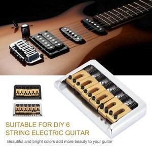 6 string guitar bridge top load fixed hard tail bridge for cigar box guitar part ebay. Black Bedroom Furniture Sets. Home Design Ideas