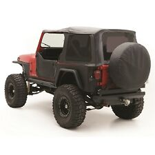 Smittybilt 9870215 Replacement Soft Top Fits 87 95 Wrangler Yj Fits 1994 Jeep Wrangler