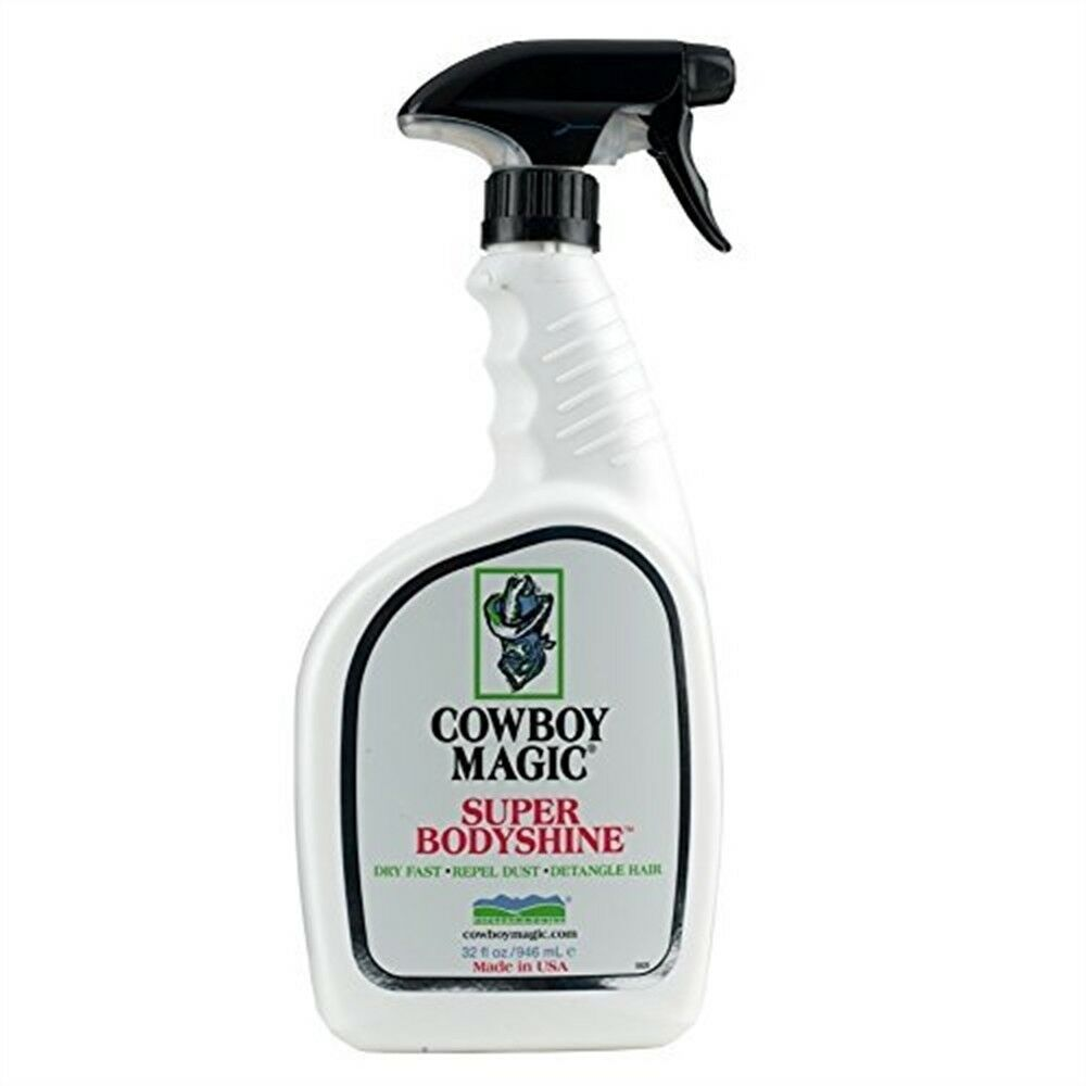 Cowboy Magic Unisex Super bodyshine, bianco, 3.8 LITRIbodyshine che mostra Cavallo