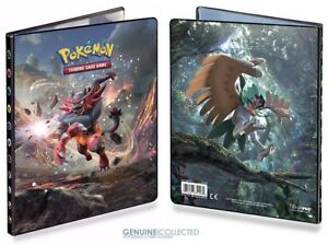 4-Pocket A5 80-card Capacity Lycanroc Kommo-o-Art Pokemon Album Portfolio Folder