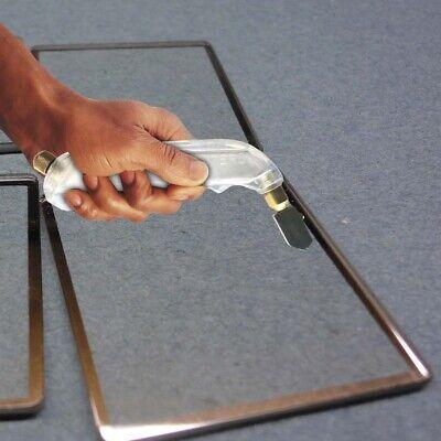 PROFESSIONAL DIAMOND TIPPED GLASS CUTTER TOOL Cut//Slice Window//Mirror//Glazing