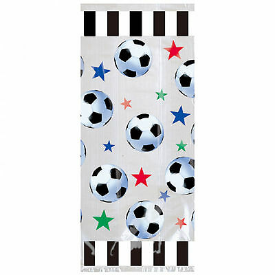 20 Football Soccer Champions Children's Party Gift Favour Loot Cellophane Bags