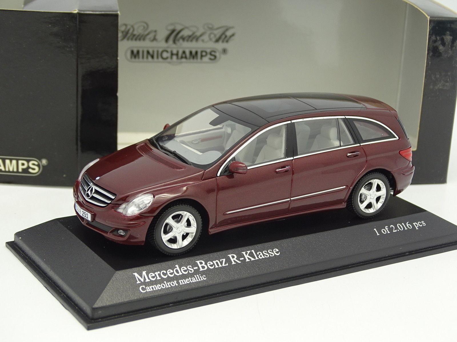 Minichamps 1 43 - Mercedes Klasse R R R Rot    Große Klassifizierung  ea77b0