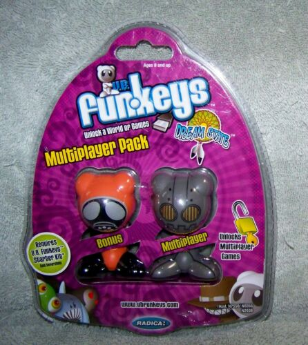UB FUNKEYS MULTIPLAYER PACK 2008 FALLOUT & SPROCKET ORANGE & GRAY