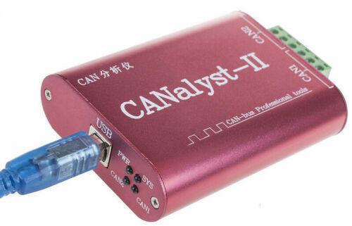 CANalyst-II 2CH CAN BUS Professional Analyzer ZLG CANPRO Compatible DE Neu!!!