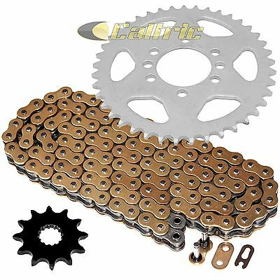 Caltric Red Drive Chain And Sprockets Kit for Honda Atc350X 1985
