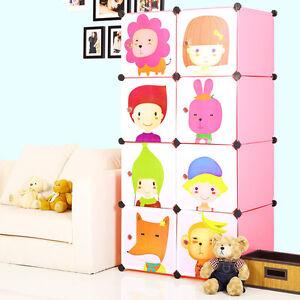 Tri- Plastic Wardrobe Cupboard Almirah Kids-Slx- Lkl-68
