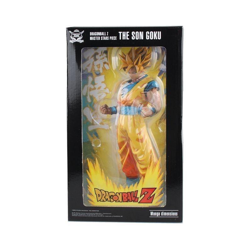 DRAGON BALL Z - Figura de accion Goku Super Saiyan Master Stars Piece 28 CM