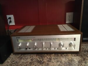 YAMAHA-CR-620-VINTAGE-STEREO-RECEIVER-nice-condition-everything-works