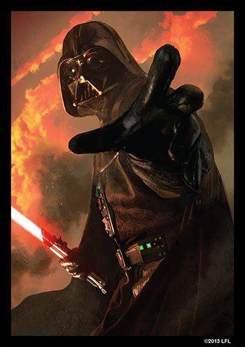 Fantasy Flight GAMING SUPPLY BRAND NEW Power of the Dark Side Sleeves 50ct