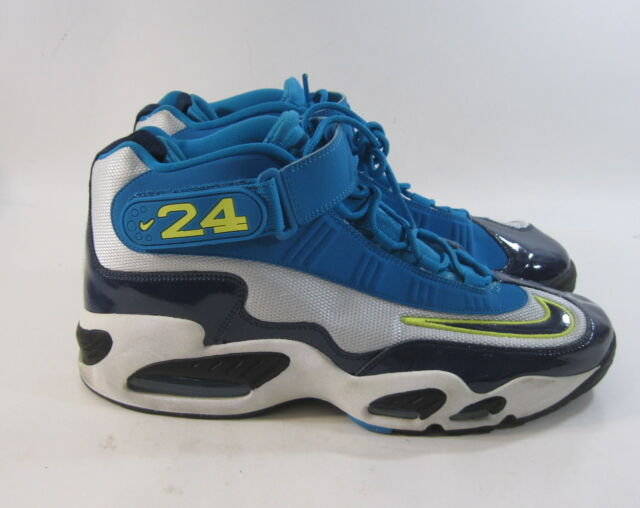 wholesale dealer 40d79 3cbf4 Nike Air Griffey Max 1 Pure Platinum Midnight Navy 354912-008 Size 13