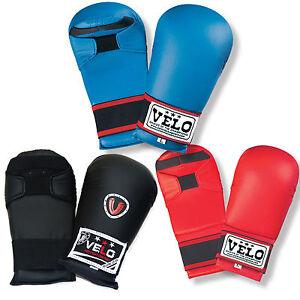 VELO  Inner Hand Wraps Boxing Gel Padded Punch Martial Art Training Mitts Gear
