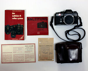 Leica-R3-electronic-Kamera-Leder-Tasche-REFURBISHED-35mm-analog-Leitz