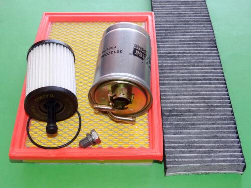 gr Inspektionspaket Filterset Filtersatz VW Sharan Seat Alhambra 1.9 /& 2.0 TDI