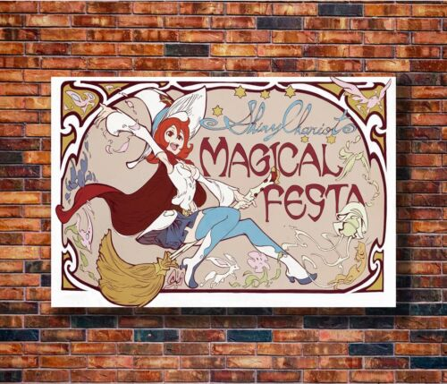Hot Gift C1749 Art Little Witch Academia Japan Lovely Cute Girl Anime Poster