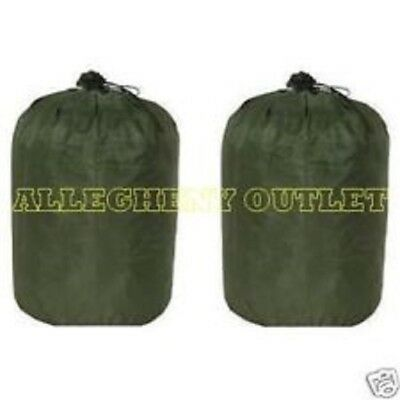 US Military Waterproof WET WEATHER BAG CLOTHING Clothes Gear Laundry SACK MINT