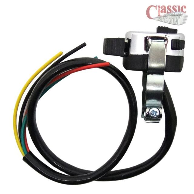 switch Lucas style 1 inch handle bar horn button