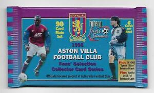 UNOPENED PACK 1998 Futera LIVERPOOL FC Fans Selection 7 Available