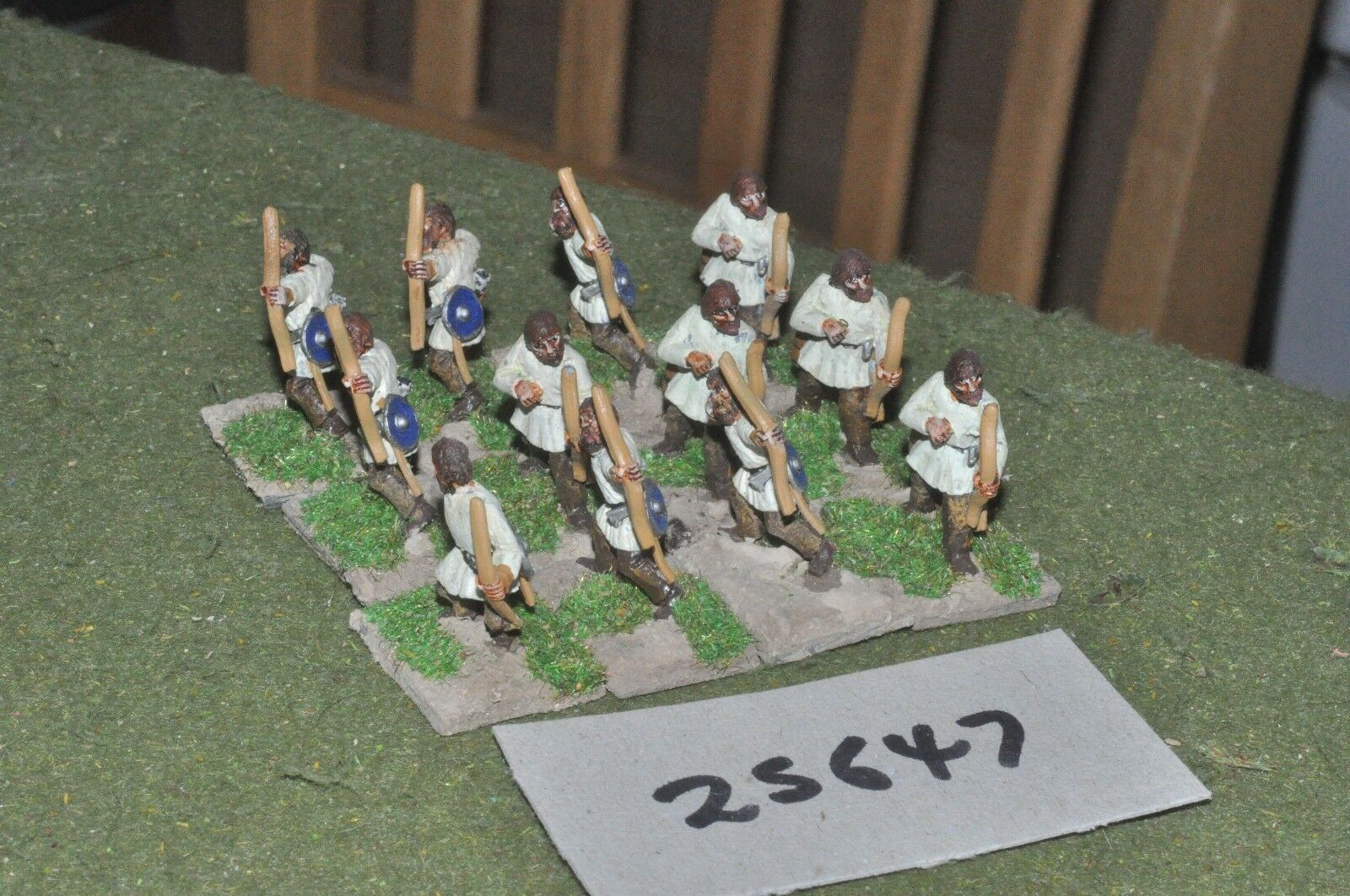 25mm roman era   roman - archers 12 figures - inf (25647)